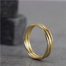 עגול נישאוין זהב