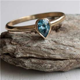 טבעת מעוצבת ספיר