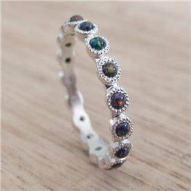 טבעת עיגולים קוורץ