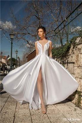 שמלות כלה עם כתפיות עבות