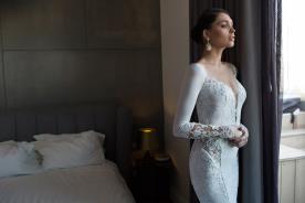 שמלת כלה פאנלים תחרה