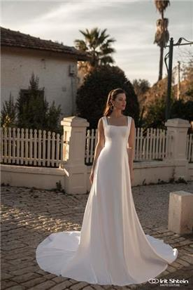 שמלות כלה סאטן