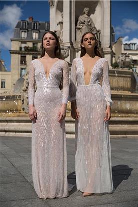 שמלת כלה עם מחשוף