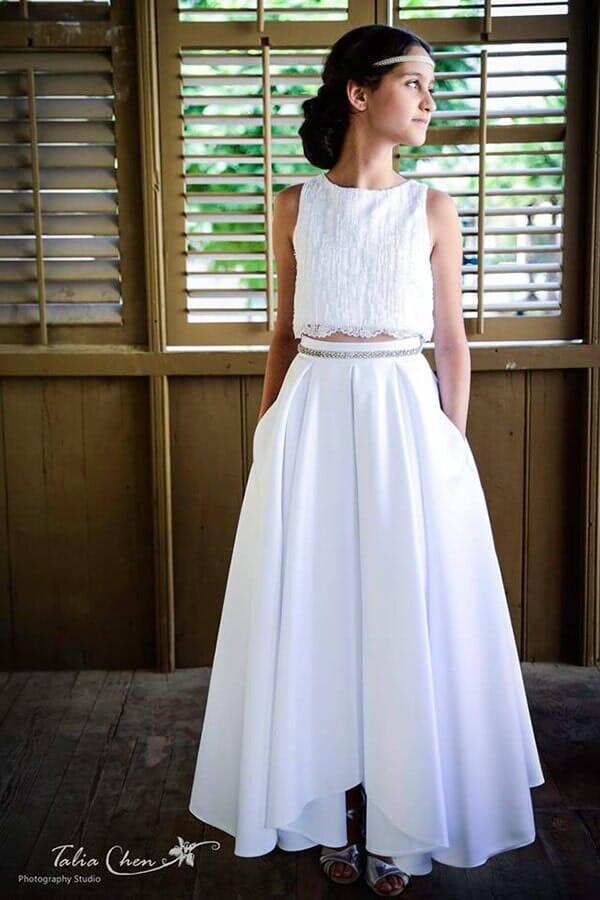 נטלי קריינין - שמלת שושבינות