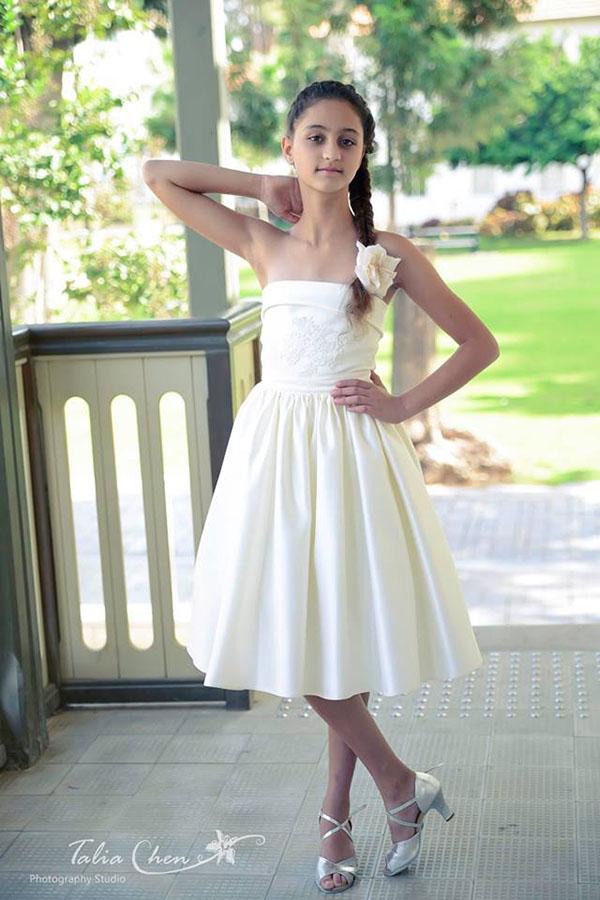 שמלת שושבינות מיוחדת