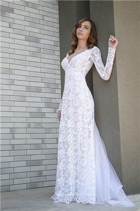 שמלת כלה של מעצבת