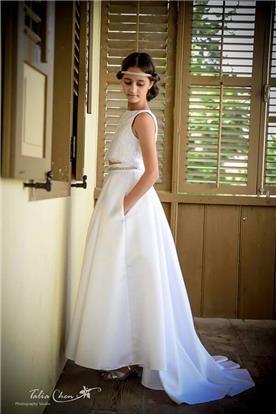 שמלת שושבינות של נטלי קריינין