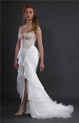 שמלת ערב בעבודת יד