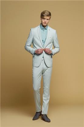 חליפת חתן: חולצה, חליפת שני חלקים, חליפת שלושה חלקים, מכנסיים, חליפה בגזרה ישרה, חליפה בדוגמה חלקה, חליפה בצבע אפור - באמוס סקוור - Bamoss square