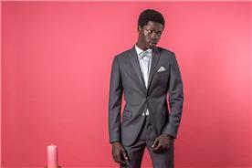 חליפות אלגנטיות אפורה