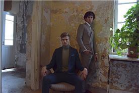 חליפת חתן: חליפה בגזרה ישרה, חליפת פסים, חליפה בדוגמה חלקה, חליפה בצבע אפור, חליפה בצבע כחול - באמוס סקוור - Bamoss square