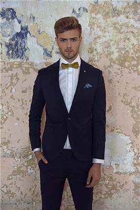 חליפת חתן: חולצה, חליפת שני חלקים, חליפת שלושה חלקים, מכנסיים, חליפה בגזרה ישרה, חליפה בדוגמה חלקה, חליפה בצבע שחור - באמוס סקוור - Bamoss square