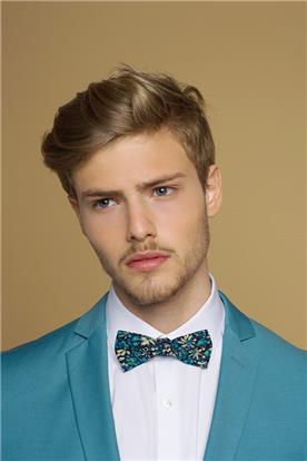 חליפת חתן: חולצה, חליפת שני חלקים, חליפה בגזרה ישרה, חליפה בדוגמה חלקה, חליפה בצבע כחול נייבי - באמוס סקוור - Bamoss square