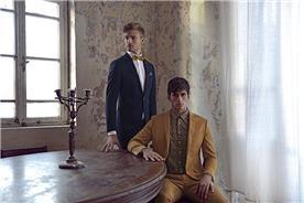 חליפת חתן: חולצה, חליפת שני חלקים, חליפת שלושה חלקים, מכנסיים, חליפה בגזרה רחבה, חליפה בגזרה ישרה, חליפה בדוגמה חלקה, חליפה בצבע כחול, חליפה בצבע בז' - באמוס סקוור - bamoss square