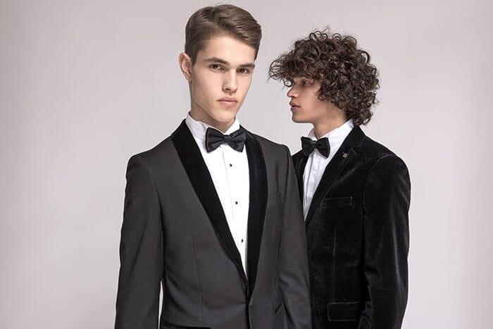 חליפת חתן שחורה