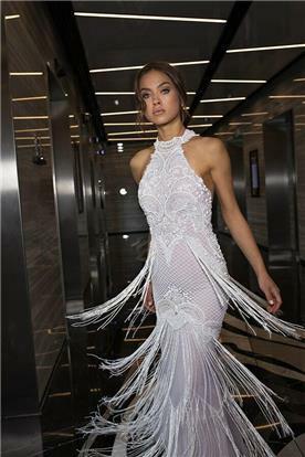 שמלות ערב בגזרה גבוהה