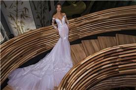 שמלה ערב עם מחשוף ושסע