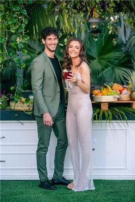 שמלת כלה: קולקציית 2019, שמלה בסגנון רומנטי, שמלה עם תחרה, שמלה בצבע לבן - דימיטריוס דליה - שמלות כלה