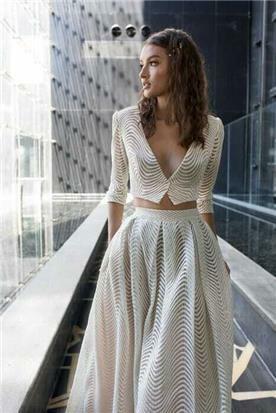 שמלות אורגנזה