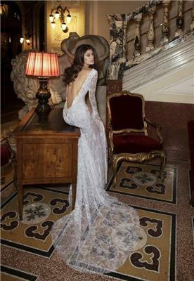 שמלת ערב עם תחרה