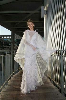 שמלת כלה צנועה מיוחדת