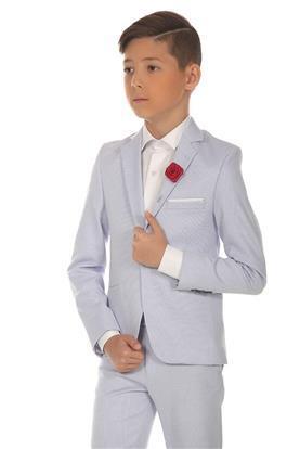 חליפת ערב לבנה לילד