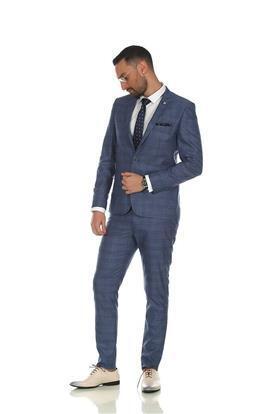 חליפת חתן בצבע ג'ינס
