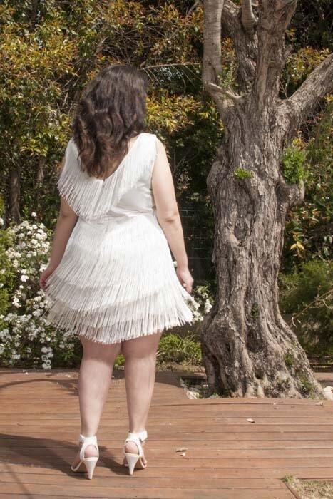 שמלת כלה בסגנון שנות ה 20