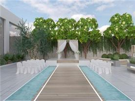 גן ואולם אירועים - Sky Garden