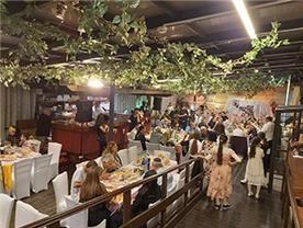 גן ואולם אירועים - אירועים בבית קטן בבקעה