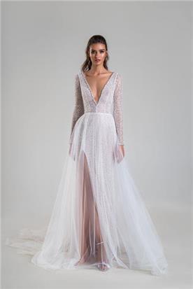 שמלות כלה עם שובל