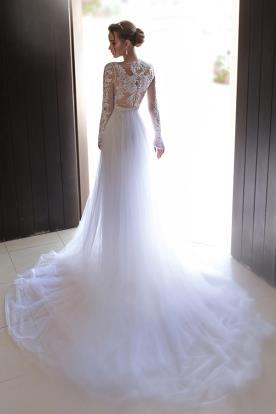 שמלת כלה מרשימה למראה אלגנטי