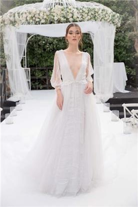 שמלה ערב צנועה