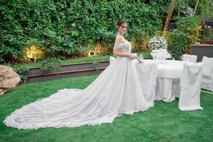 שמלות כלה עם בדים מיובאים