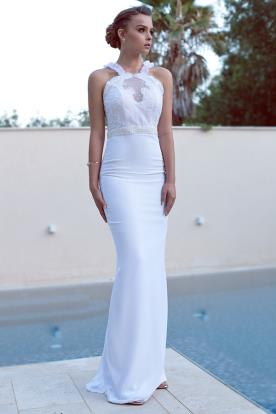 שמלת כלה אלגנטית בהשראה קלאסית