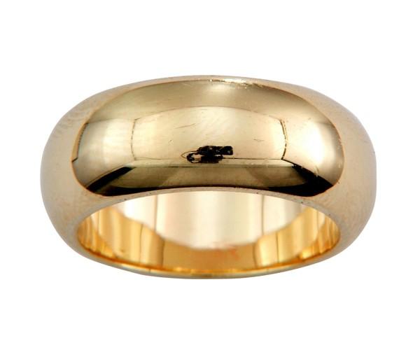 טבעת נישואין זהב נקייה