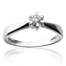 טבעת נישואין עדינה