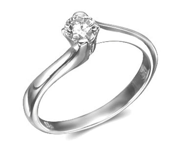 טבעת אירוסין בעיצוב רומנטי