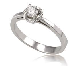 טבעת אירוסין מודרנית מעוצבת
