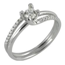 טבעת בסגנון טוויסט