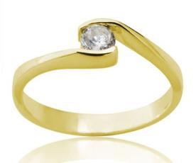 טבעת אירוסין קלאסית מעוצבת