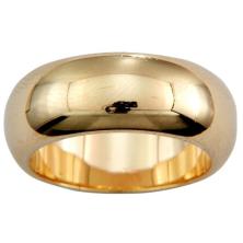 טבעת עגולה מבריקה
