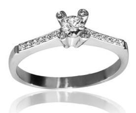 טבעת בעיצוב קלאסי מודרני