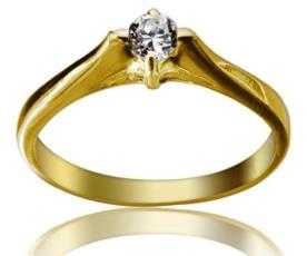 טבעת קלאסית בעיצוב וינטאג