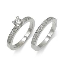 טבעת שני חלקים ייחודית