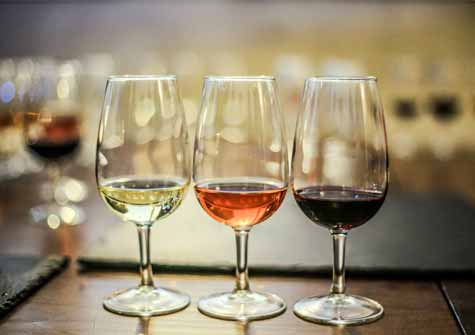 מגוון יינות