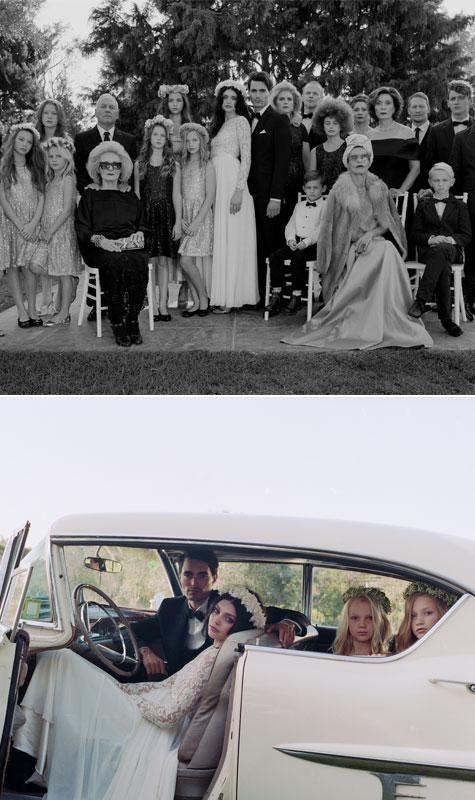 צילום משפחתי בחתונה