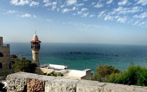 נוף לים התיכון מבית אנדרומדה