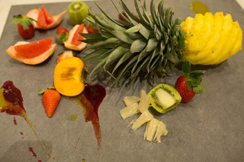 פירות מוגשים