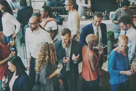שיתוף פעולה באירוע חברה